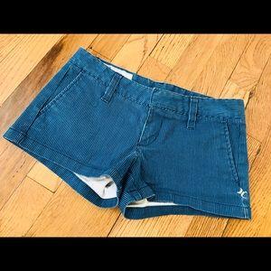 Hurley shorts, size 0